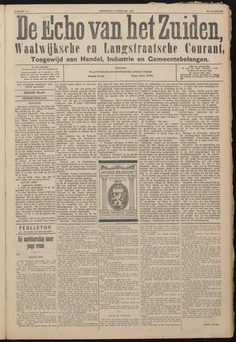 Echo van het Zuiden 1925-02-04