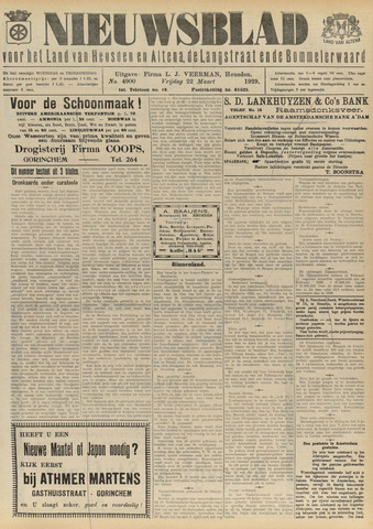 Nieuwsblad het land van Heusden en Altena de Langstraat en de Bommelerwaard 1929-03-22