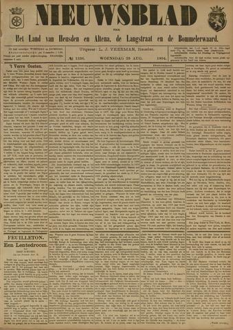 Nieuwsblad het land van Heusden en Altena de Langstraat en de Bommelerwaard 1894-08-29