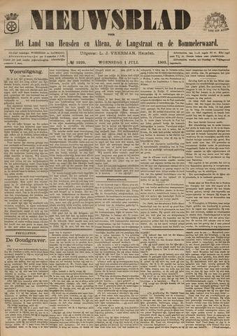 Nieuwsblad het land van Heusden en Altena de Langstraat en de Bommelerwaard 1903-07-01