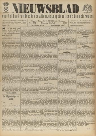 Nieuwsblad het land van Heusden en Altena de Langstraat en de Bommelerwaard 1923-06-13