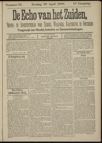Echo van het Zuiden 1888-04-29