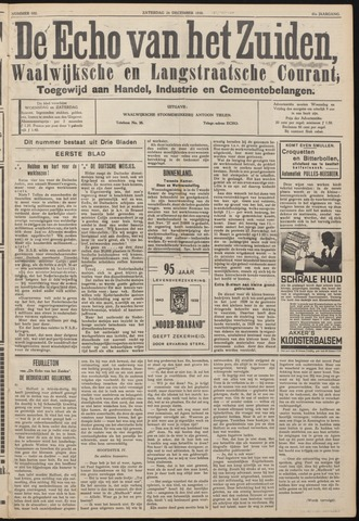 Echo van het Zuiden 1938-12-24