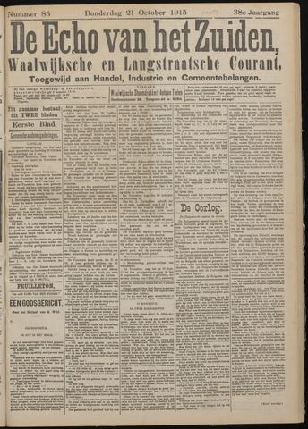 Echo van het Zuiden 1915-10-21