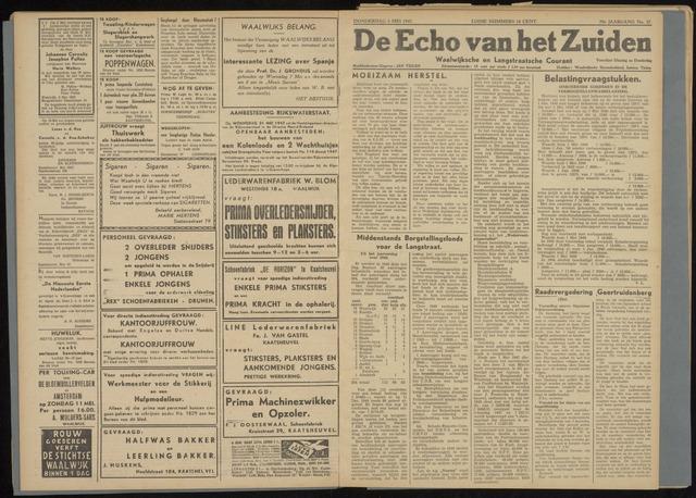 Echo van het Zuiden 1947-05-08