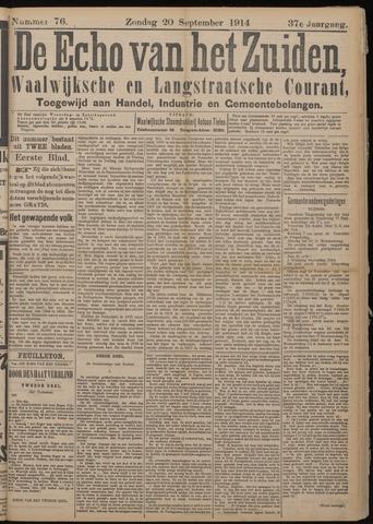 Echo van het Zuiden 1914-09-20