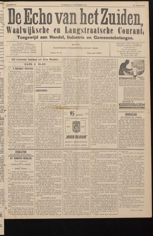 Echo van het Zuiden 1938-11-12