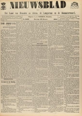 Nieuwsblad het land van Heusden en Altena de Langstraat en de Bommelerwaard 1915-01-23