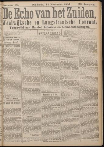Echo van het Zuiden 1907-11-14