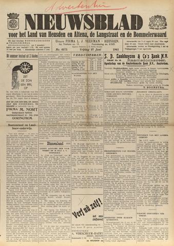 Nieuwsblad het land van Heusden en Altena de Langstraat en de Bommelerwaard 1941-06-27
