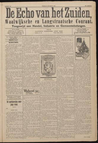 Echo van het Zuiden 1925-12-25