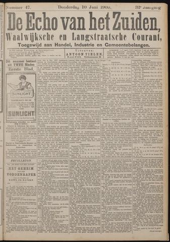 Echo van het Zuiden 1909-06-10