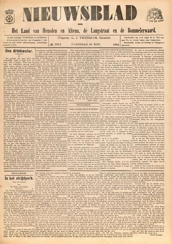 Nieuwsblad het land van Heusden en Altena de Langstraat en de Bommelerwaard 1904-11-23