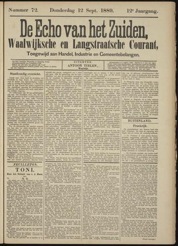 Echo van het Zuiden 1889-09-12