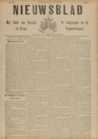 Nieuwsblad het land van Heusden en Altena de Langstraat en de Bommelerwaard 1888-11-28