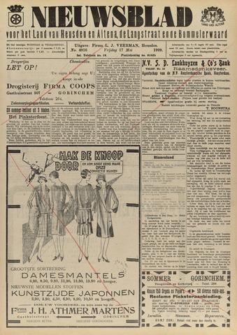 Nieuwsblad het land van Heusden en Altena de Langstraat en de Bommelerwaard 1929-05-17