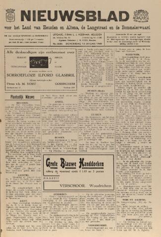 Nieuwsblad het land van Heusden en Altena de Langstraat en de Bommelerwaard 1949-01-13