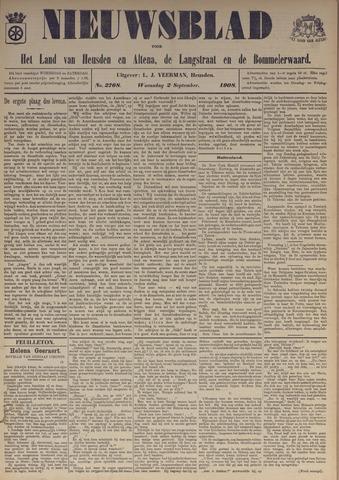 Nieuwsblad het land van Heusden en Altena de Langstraat en de Bommelerwaard 1908-09-02