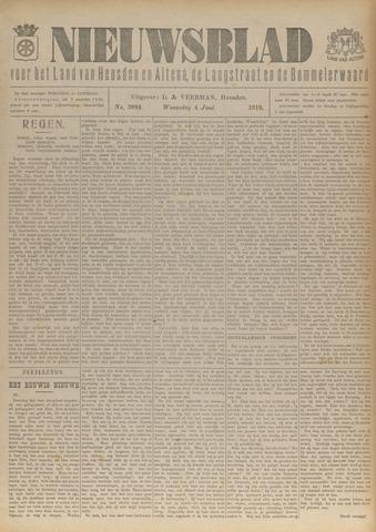 Nieuwsblad het land van Heusden en Altena de Langstraat en de Bommelerwaard 1919-06-04