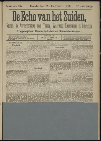 Echo van het Zuiden 1886-10-28