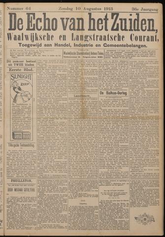 Echo van het Zuiden 1913-08-10