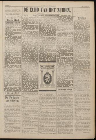 Echo van het Zuiden 1922-02-22