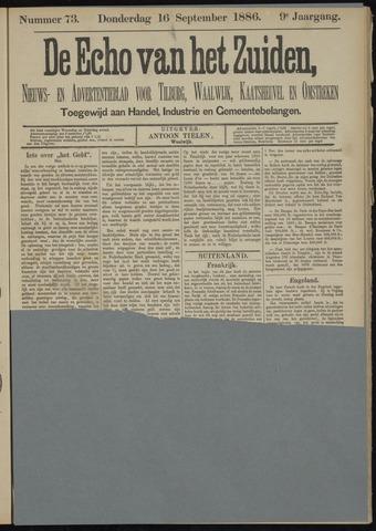Echo van het Zuiden 1886-09-16