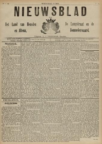 Nieuwsblad het land van Heusden en Altena de Langstraat en de Bommelerwaard 1892-05-11