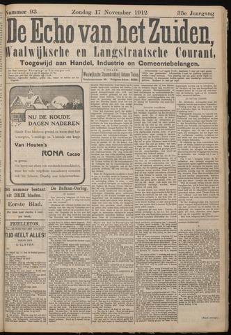 Echo van het Zuiden 1912-11-17