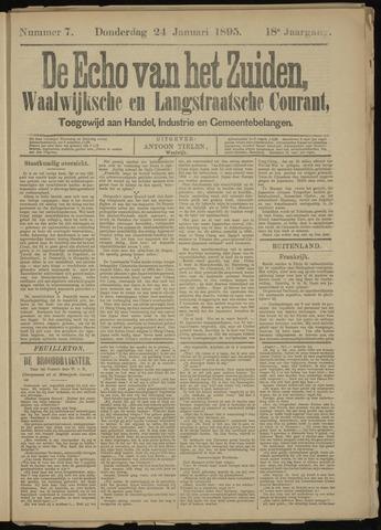 Echo van het Zuiden 1895-01-24