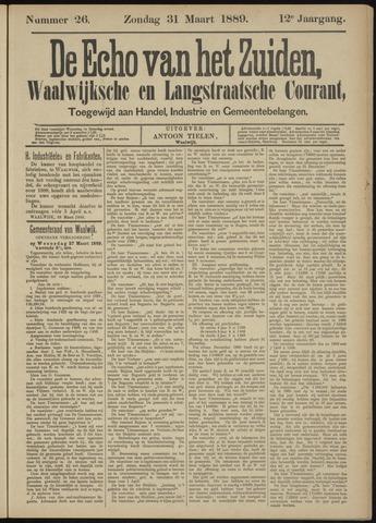 Echo van het Zuiden 1889-03-31