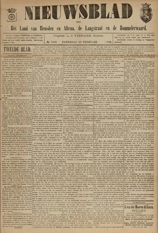 Nieuwsblad het land van Heusden en Altena de Langstraat en de Bommelerwaard 1895-02-23
