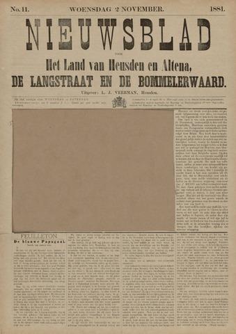Nieuwsblad het land van Heusden en Altena de Langstraat en de Bommelerwaard 1881-11-02
