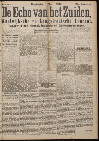 Echo van het Zuiden 1913-03-06