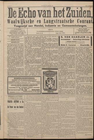 Echo van het Zuiden 1927-01-12