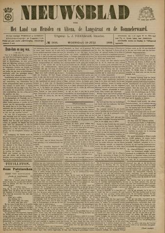 Nieuwsblad het land van Heusden en Altena de Langstraat en de Bommelerwaard 1899-07-19