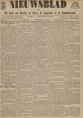Nieuwsblad het land van Heusden en Altena de Langstraat en de Bommelerwaard 1902-07-30