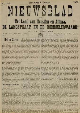 Nieuwsblad het land van Heusden en Altena de Langstraat en de Bommelerwaard 1883-01-01