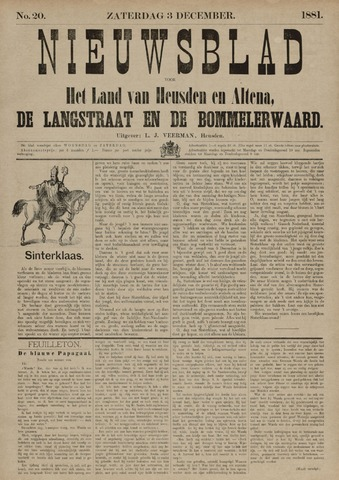 Nieuwsblad het land van Heusden en Altena de Langstraat en de Bommelerwaard 1881-12-03