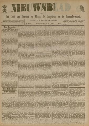 Nieuwsblad het land van Heusden en Altena de Langstraat en de Bommelerwaard 1899-03-22