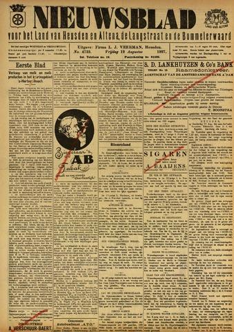 Nieuwsblad het land van Heusden en Altena de Langstraat en de Bommelerwaard 1927-08-12
