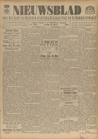 Nieuwsblad het land van Heusden en Altena de Langstraat en de Bommelerwaard 1924-03-28