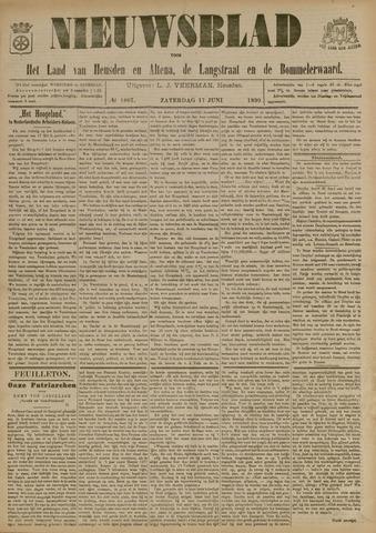 Nieuwsblad het land van Heusden en Altena de Langstraat en de Bommelerwaard 1899-06-17