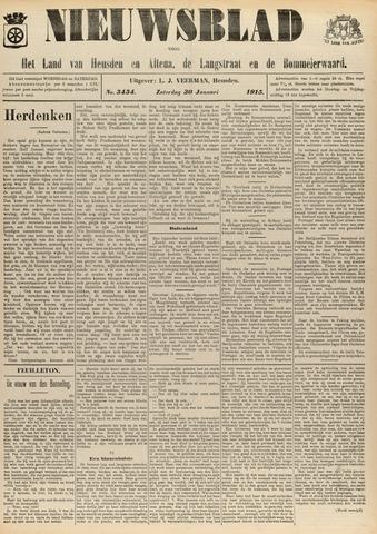Nieuwsblad het land van Heusden en Altena de Langstraat en de Bommelerwaard 1915-01-30