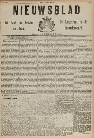 Nieuwsblad het land van Heusden en Altena de Langstraat en de Bommelerwaard 1891-06-17