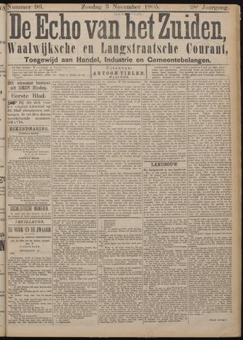 Echo van het Zuiden 1905-12-03
