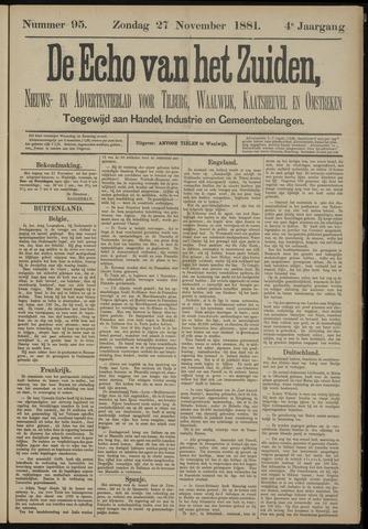 Echo van het Zuiden 1881-11-27