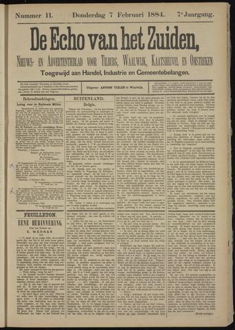Echo van het Zuiden 1884-02-07