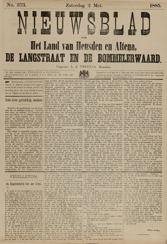 Nieuwsblad het land van Heusden en Altena de Langstraat en de Bommelerwaard 1885-05-02