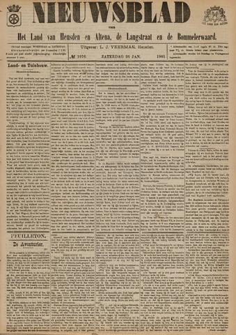 Nieuwsblad het land van Heusden en Altena de Langstraat en de Bommelerwaard 1901-01-26